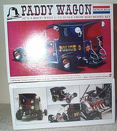 Paddy Wagon Show Rod Model Kit