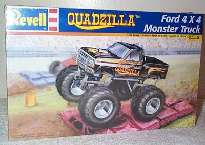 Quadzilla Ford 4 x 4 Monster Truck