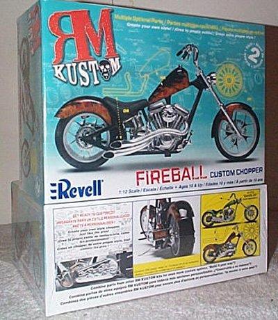RM Kustom Fireball Custom Chopper