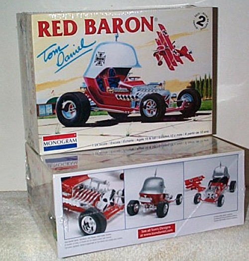 Red Baron Reissue Model Kit