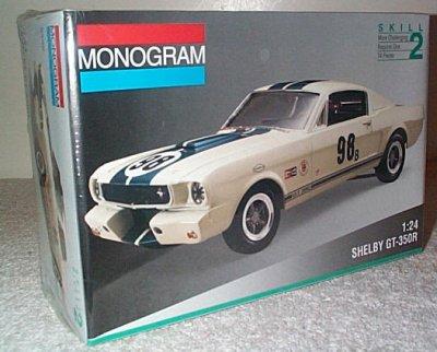 Shelby GT- 350R Model Kit