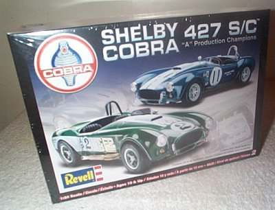 Shelby Cobra 427 S/C Model Kit
