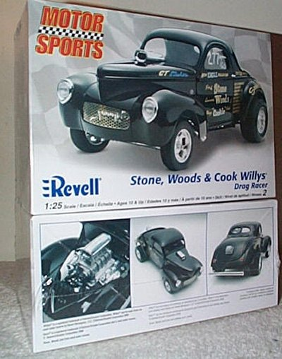 Stone-Woods-Cook '41 Willys Drag Coupe