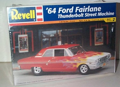 '64 Fairlane Thunderbolt Model Kit