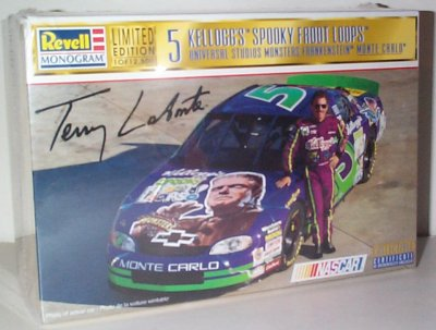 Terry  Labonte Kellogg's Spooky Loops Model