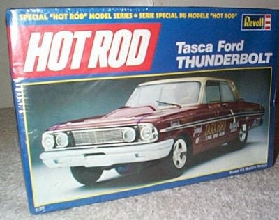 Tasca Ford Thunderbolt Model Kit