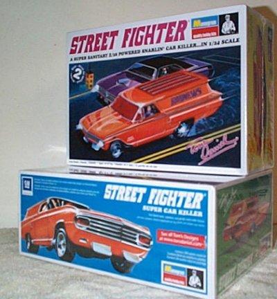 Tom Daniel Street Fighter Model Kit