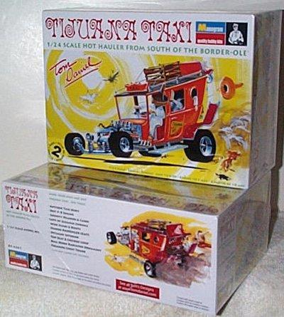 Tom Daniel's Tijuana Taxi Model Kit