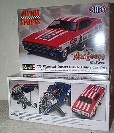 Tom McEwen's '75 Duster Funny Car