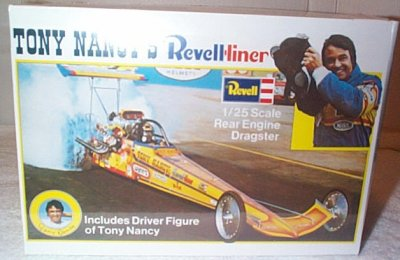 Tony Nancy Revell-Liner Fuel Dragster