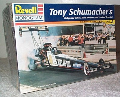 Tony Schumacher Blues Brothers Dragster