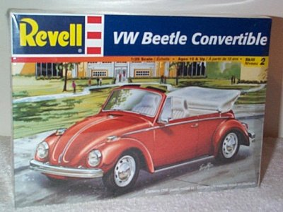VW Beetle Convertible Model Kit