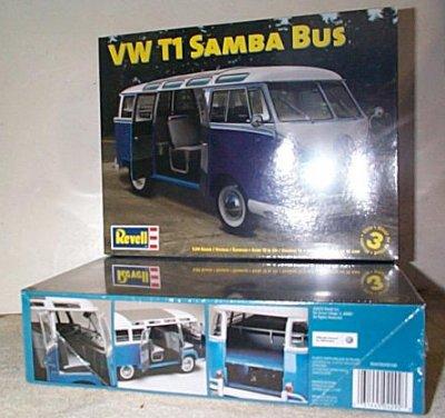 VW T1 Sumba Bus Model Kit
