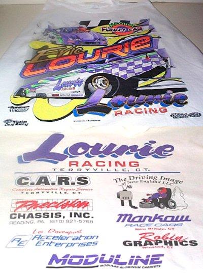 Lourie Racing Top Alcohol Funny Car T- Shirt