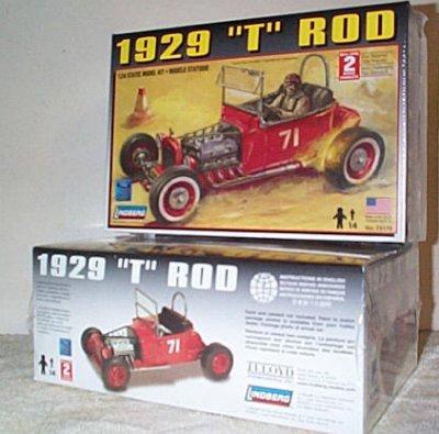 '29 Ford T Custom Rod Model Kit