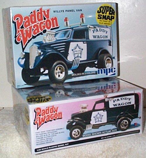 '33 Willys Paddy Wagon Model Kit