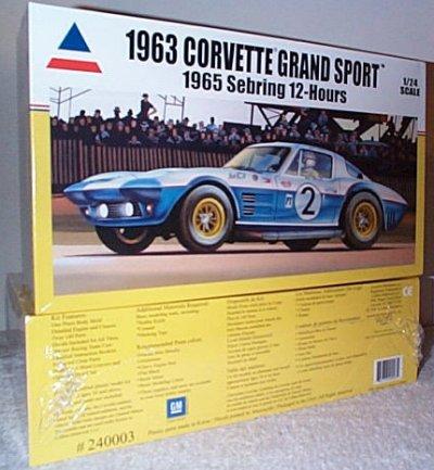 '63 Corvette GS 1965 Sebring 12 Hour Model