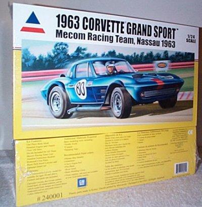 '63 Corvette GS Mecom Racing Team