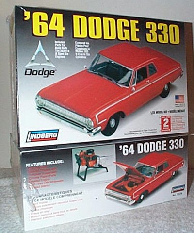 '64 Dodge 2 Door Sedan Model Kit