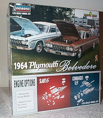 '64 Plymouth Belvedere Model King Model