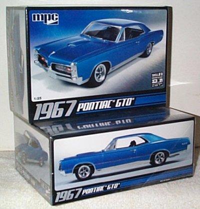'67 Pontiac GTO Model Kit