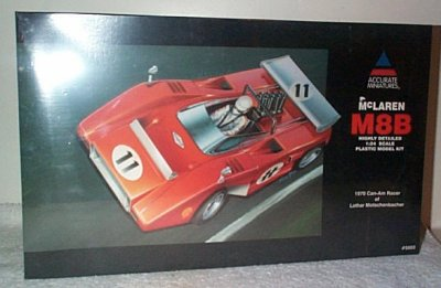 McLaren '70 M8B Can Am Racer Model kit