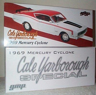 Cale Yarborough Mercury Cyclone