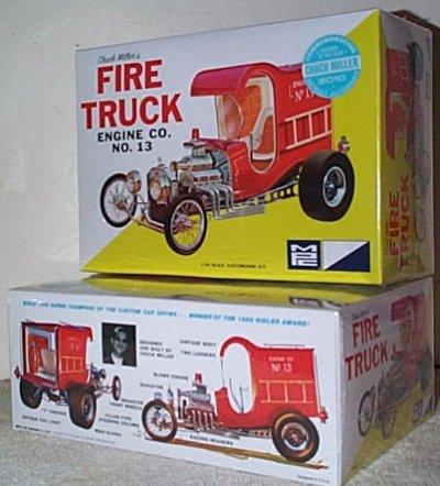 Chuck Miller's Fire Truck Model Kit