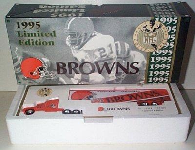 Cleveland Browns '95 Team Transporter