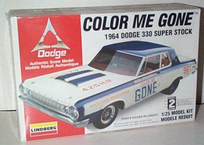 Color Me Gone SS/A '64 Dodge Model Kit