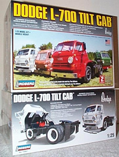 Dodge L-700 Tilt Cab Model Kit