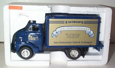Eastwood '52 GMC 15th Anniversay Dry Goods Van