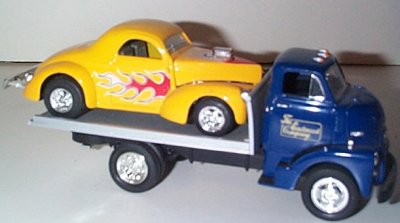 Eastwood Rollback w/'41Willys Gasser Coupe