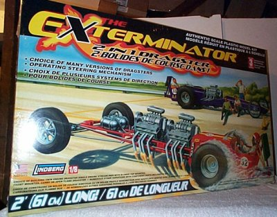 Exterminator 2'n 1 Dragster Model Kit