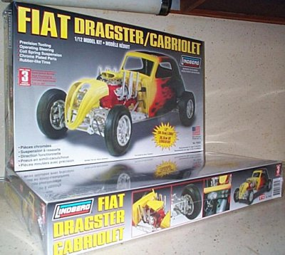 Fiat Dragster/Cabriolet Model Kit