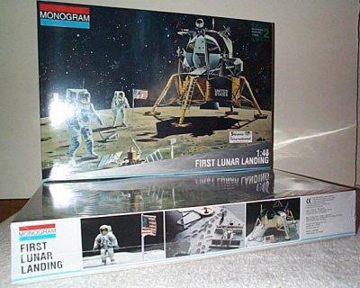 First Lunar Landing Model Kit