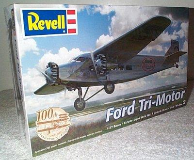 Ford Tri-Motor Model Kit