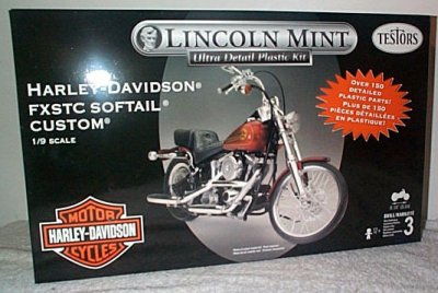 H-D FXSTC Softail Custom Model Kit