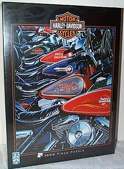 Harley-Davidson Thunder Row Puzzle