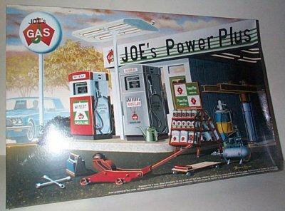 Joe's Power Plus Vintage Gas Station