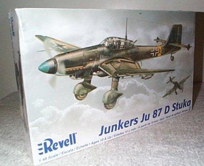 Junkers JU87D Stuka Dive Bomber