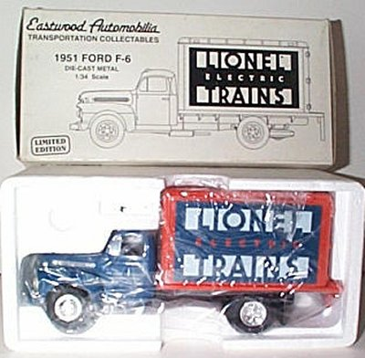 Lionel Trains '51 Ford F-6 Dry Goods Van
