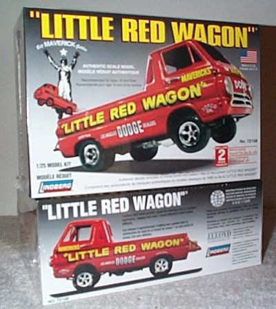 Little Red Wagon Model Kit