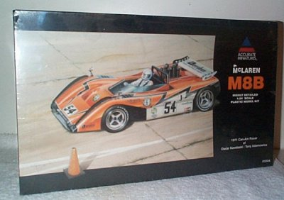 McLaren M8B '71 Can-Am Model Kit