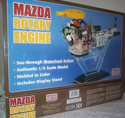 Mazda Rotary Engine Model Kit