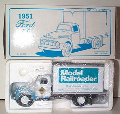 Model Railroader '51 Ford F-6
