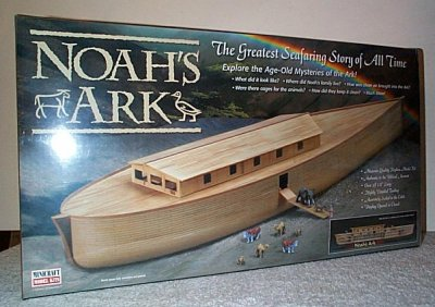 Noah's Ark Plastic Model Kit