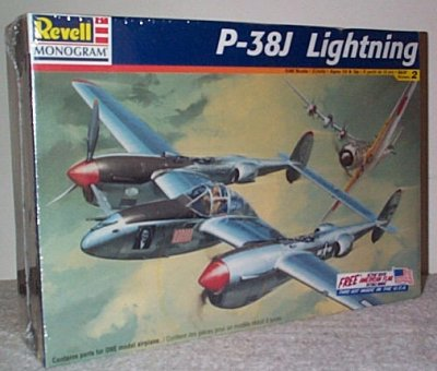 P-38J Lightning WW II Fighter Plane