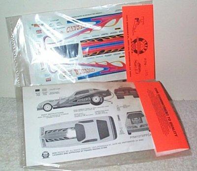 Slixx Decals # 1273 Pisano Pontiac Funny Car