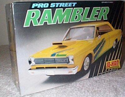 Pro Street Rambler Model Kit By Jo-Han